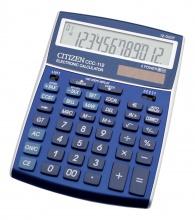 Kalkulačka Citizen CCC-112 modrá