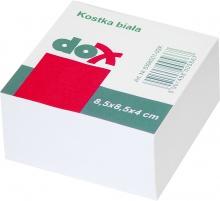 Blok kocka nelepená 85x85x40mm biela (EC231114)