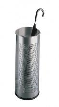 Stojan na dáždniky kovový strieborný (SM002618)
