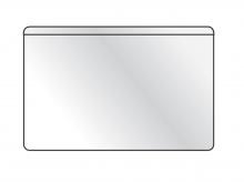 Samolepiace vrecko vizitkové s otvorom zhora 100 ks