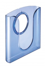Prezentačný odkladač modrý priehľadný