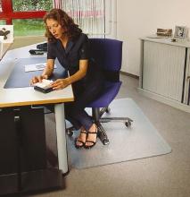 Podložka pod stoličku na koberce 121x152 cm