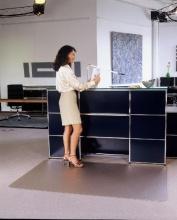 Podložka pod stoličku na koberce 120x200 cm