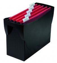 Prenosný box SWING bez veka čierny