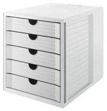 System box KARMA eko - sivá
