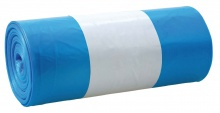 Vrecia 110 l/20ks, 26 mic modré