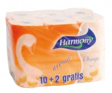 Papier Harmony Natural Orange 2-vrstvový pomarančový 12 ks