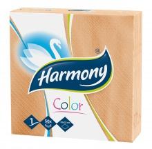 Papierové servítky Harmony oranžové
