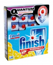 Calgonit finish powerball Quantum Lemon 40 tab.