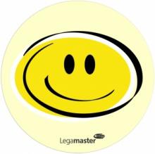 Moderačné karty emočné Smileys priemeru 9,5cm žlté 100 ks