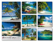Nástenný kalendár Sny leta