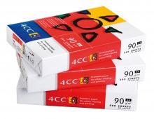 Papier 4CC  A4 90g biely