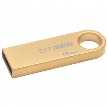 USB 8 GB Drive Data Traveler GE9 2.0 Kingston