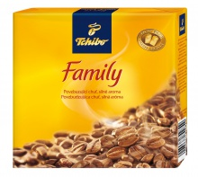 Káva Tchibo Family 2x250g mletá