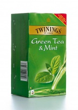 Čaj Twinings green & mint 50 g